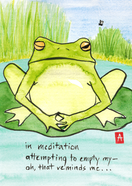 """in meditation"" © Annette Makino"