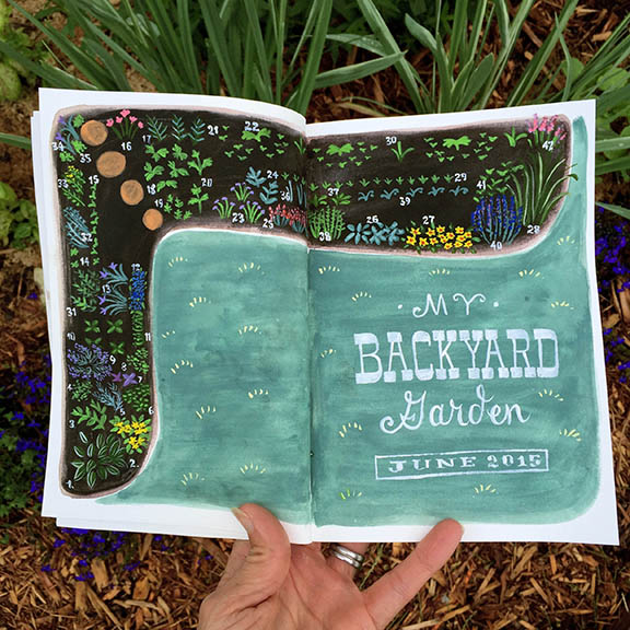 Garden Journal © Angela Staehling