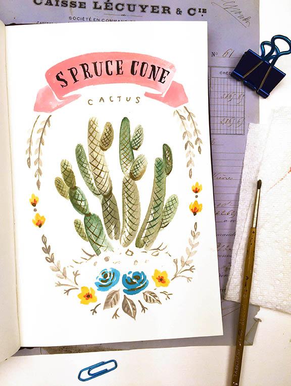 Spruce Cone Cactus © Angela Staehling