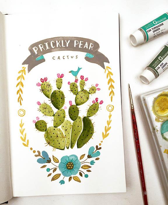 Prickly Pear Cactus © Angela Staehling