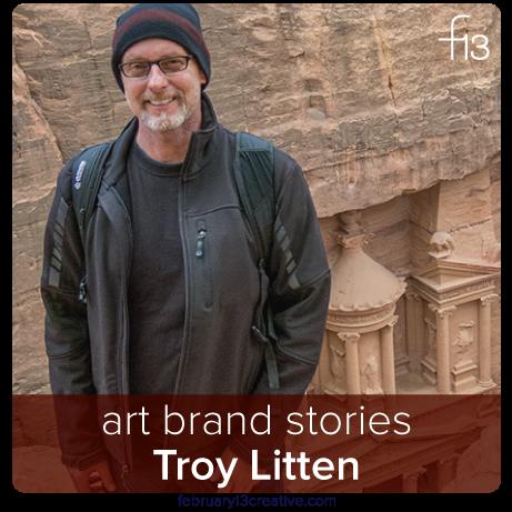 F13 Art Brand Story: Troy Litten / Troyland.com