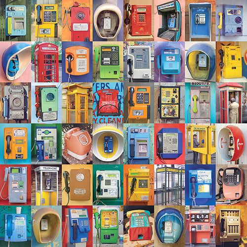 Payphones from around the world. ©2015 Troy Litten