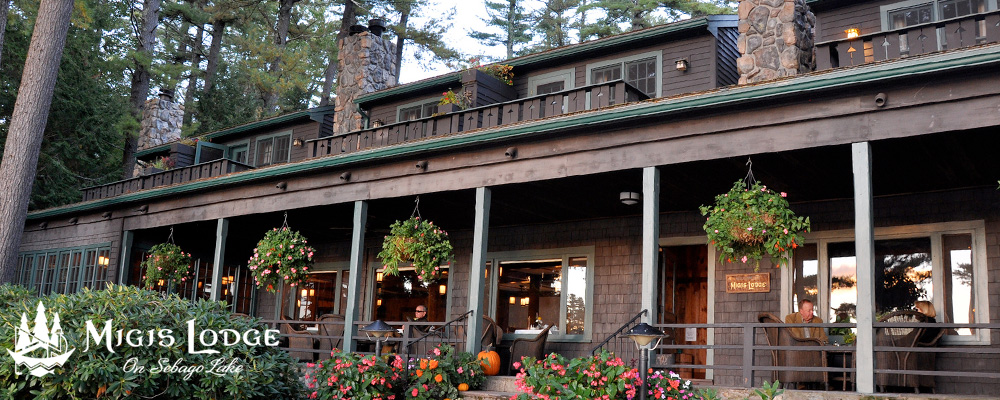 Migis Lodge on Sebago Lake (Maine)
