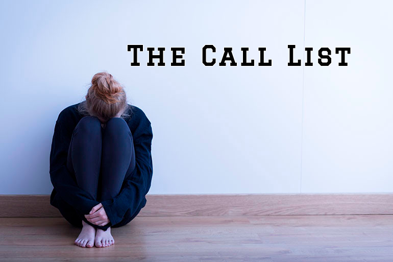 The Call List - A depressed legal assistant is tasked with calling individuals on a list left behind by a man who committed suicide. The work assignment could not come a worse time, as they are dealing with their own life/work existential crisis while their mother and sister badger them via text message. Wanting to connect with their estranged father, it's a few kind words from a stranger that might give them what they ultimately need.Solo play.