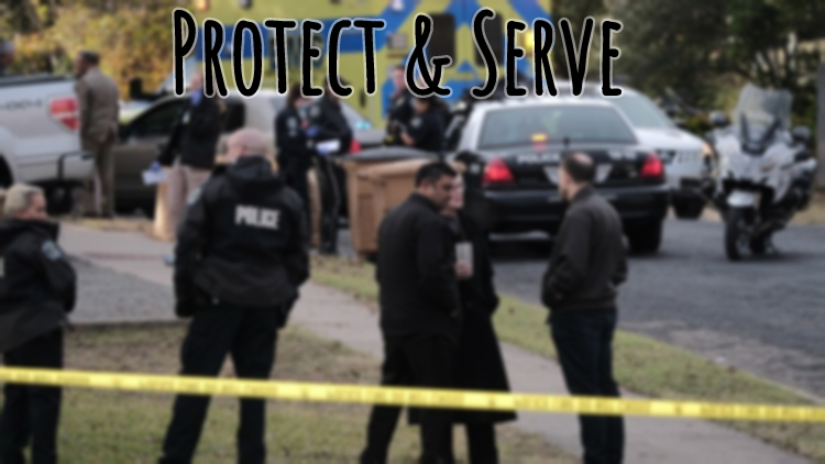 Protect & Serve - Inspired by the shooting death of Tamir Rice by a police officer in Cleveland,