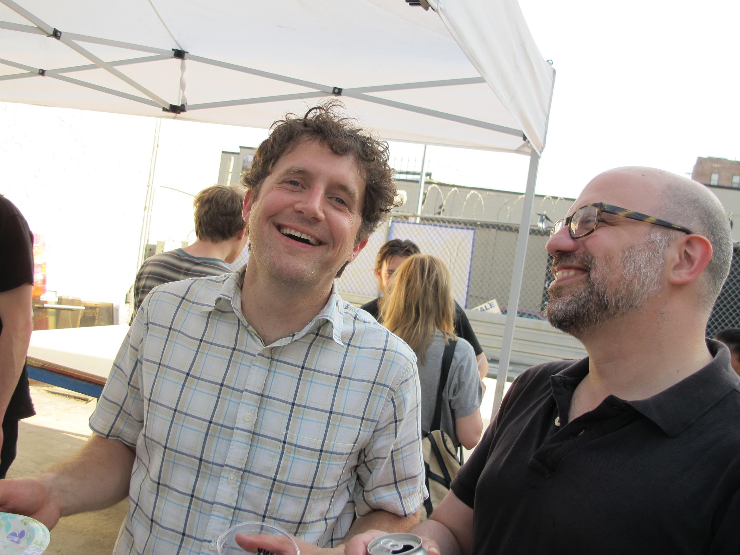Python Angelo reunion with Randy and Mike.