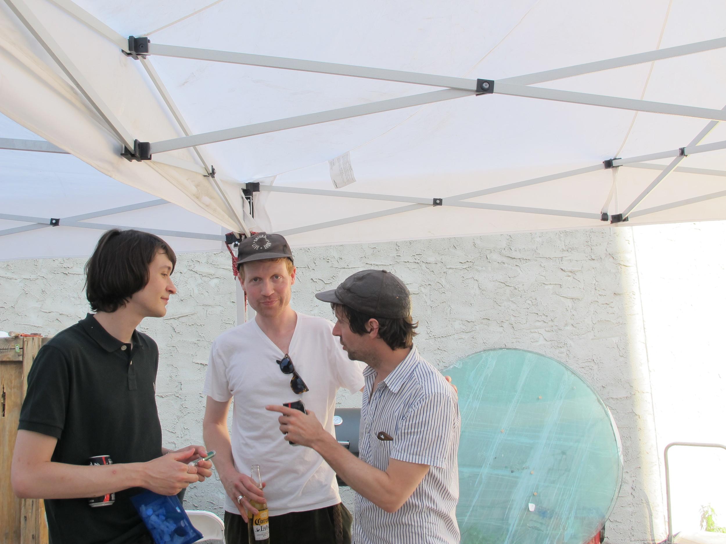 Owen, Matt and Keegan