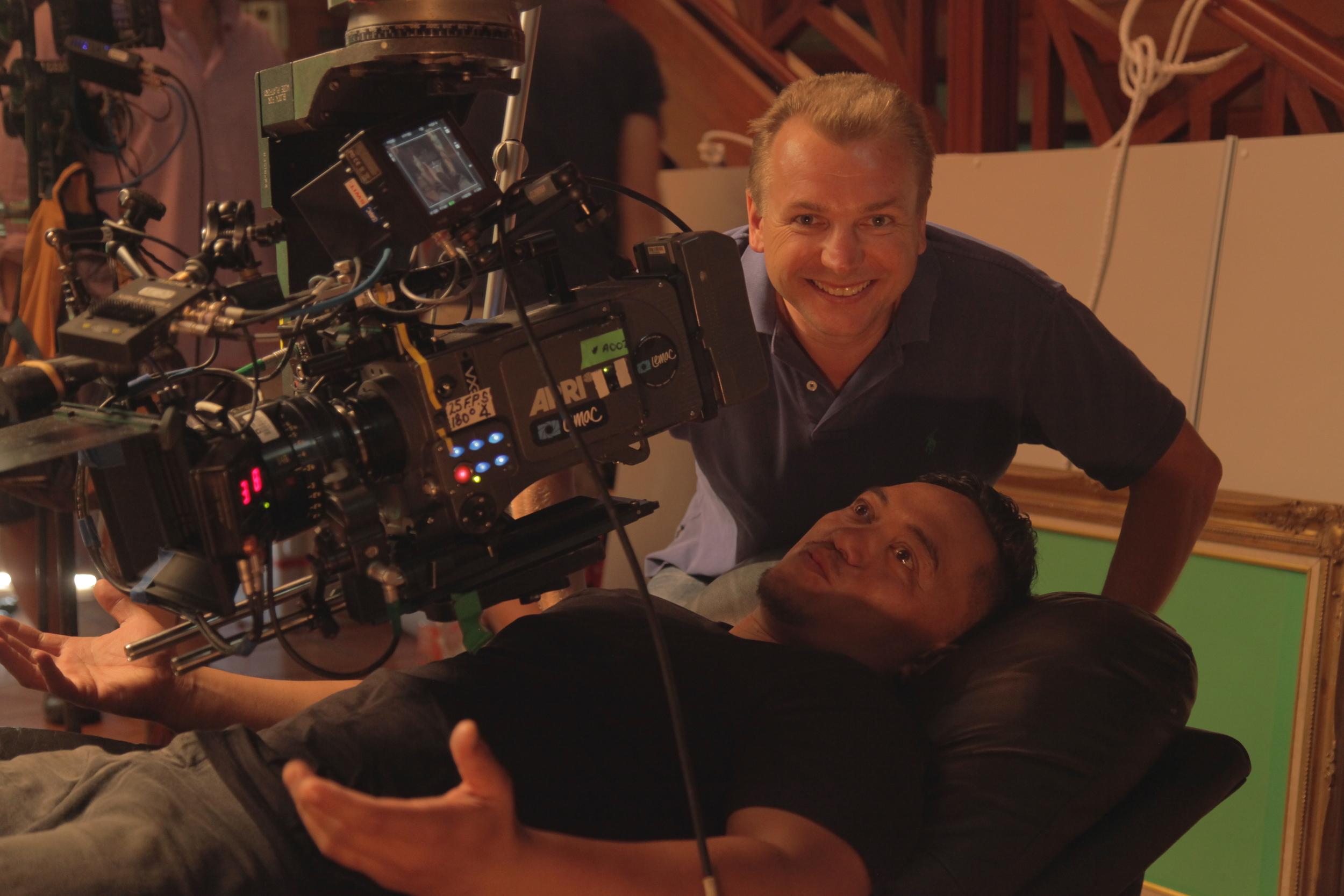 ProducerJustin Lyons withTaungaroa Emile