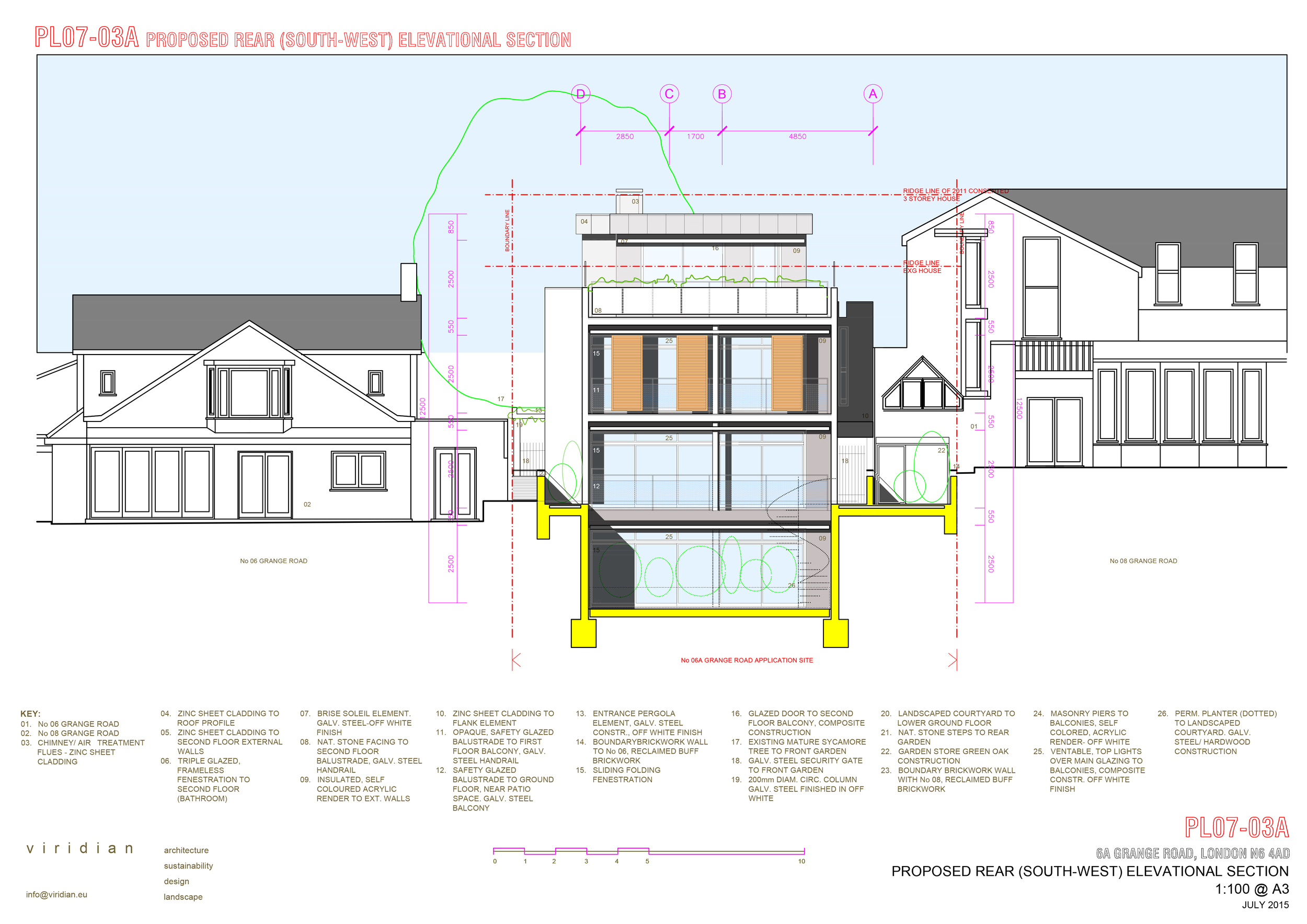 150718 grange road elevations-ELEVATION REAR GARDEN i.jpg