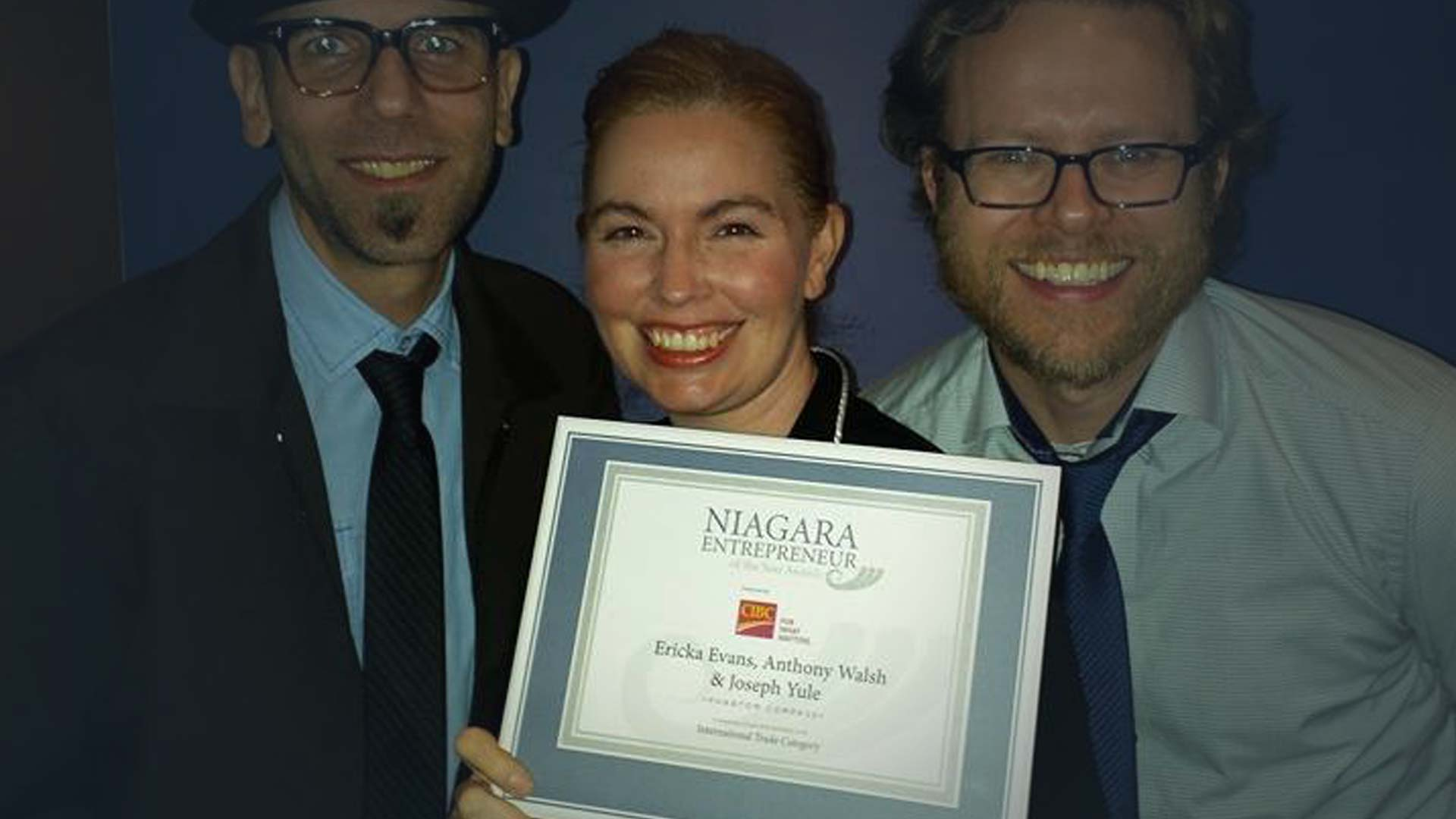 2015 - NOMINEEINTERNATIONAL TRADENiagara Entrepreneur of the Year AwardSt. Catharines, Canada