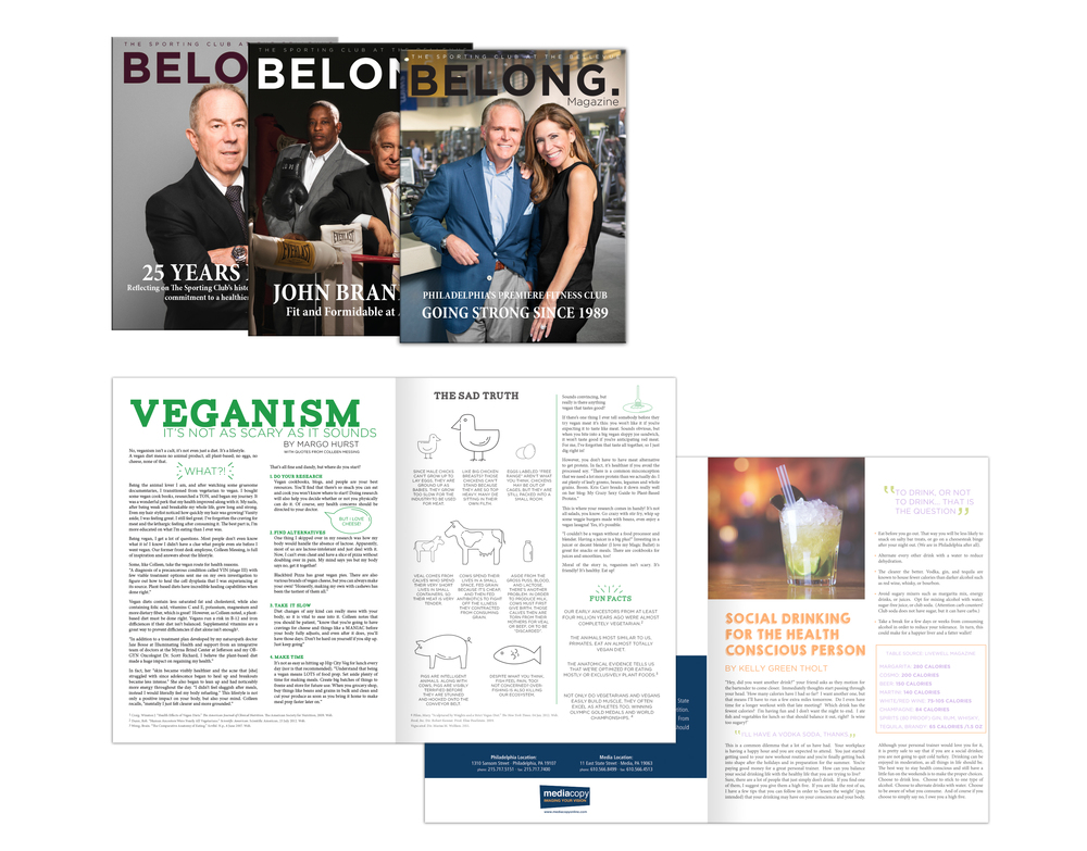 BELONG. Magazine