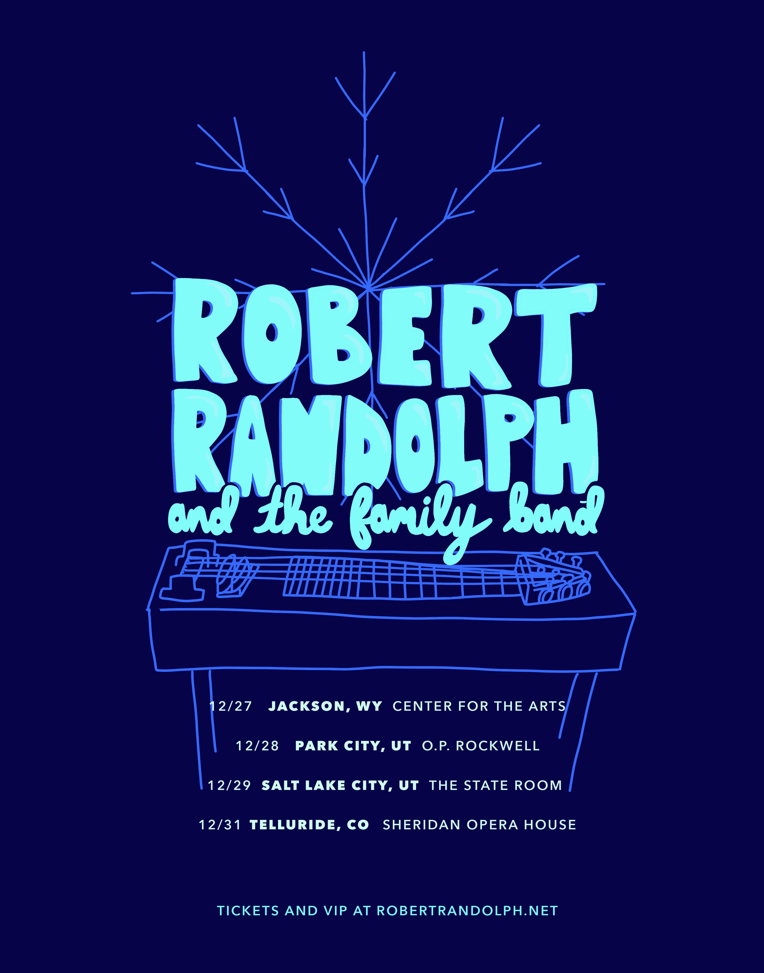 Robert Randolph and the Family Band Tour