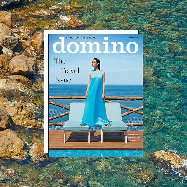 New work! A sneak peak at @dominomag Summer issue! I can't wait for you all to see more! So happy to be a part of the Domino team!