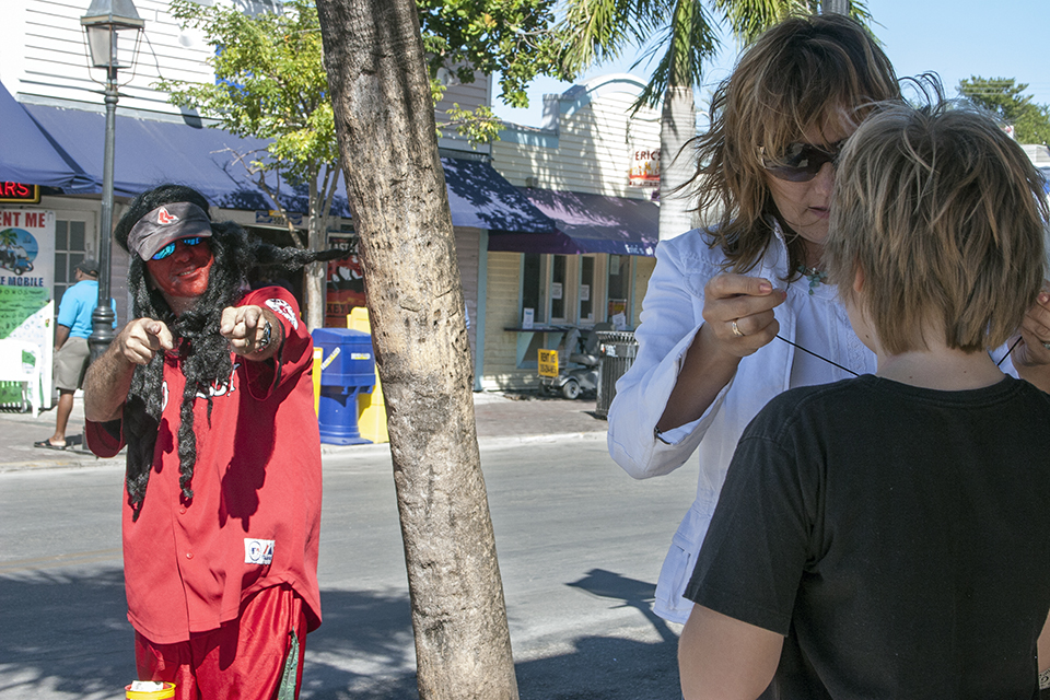 American Byways. A man with red face, Key West .jpg