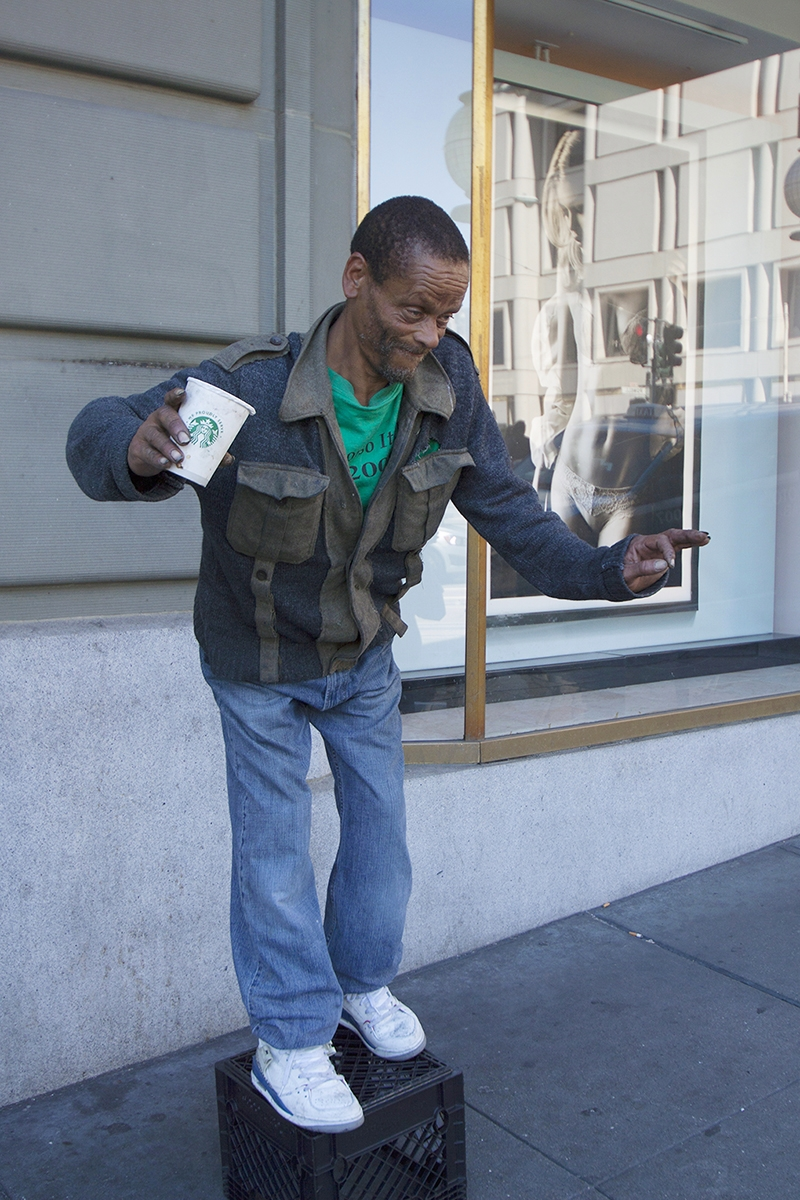American Byways. A man show at the day of  Pride, San francisco, .jpg