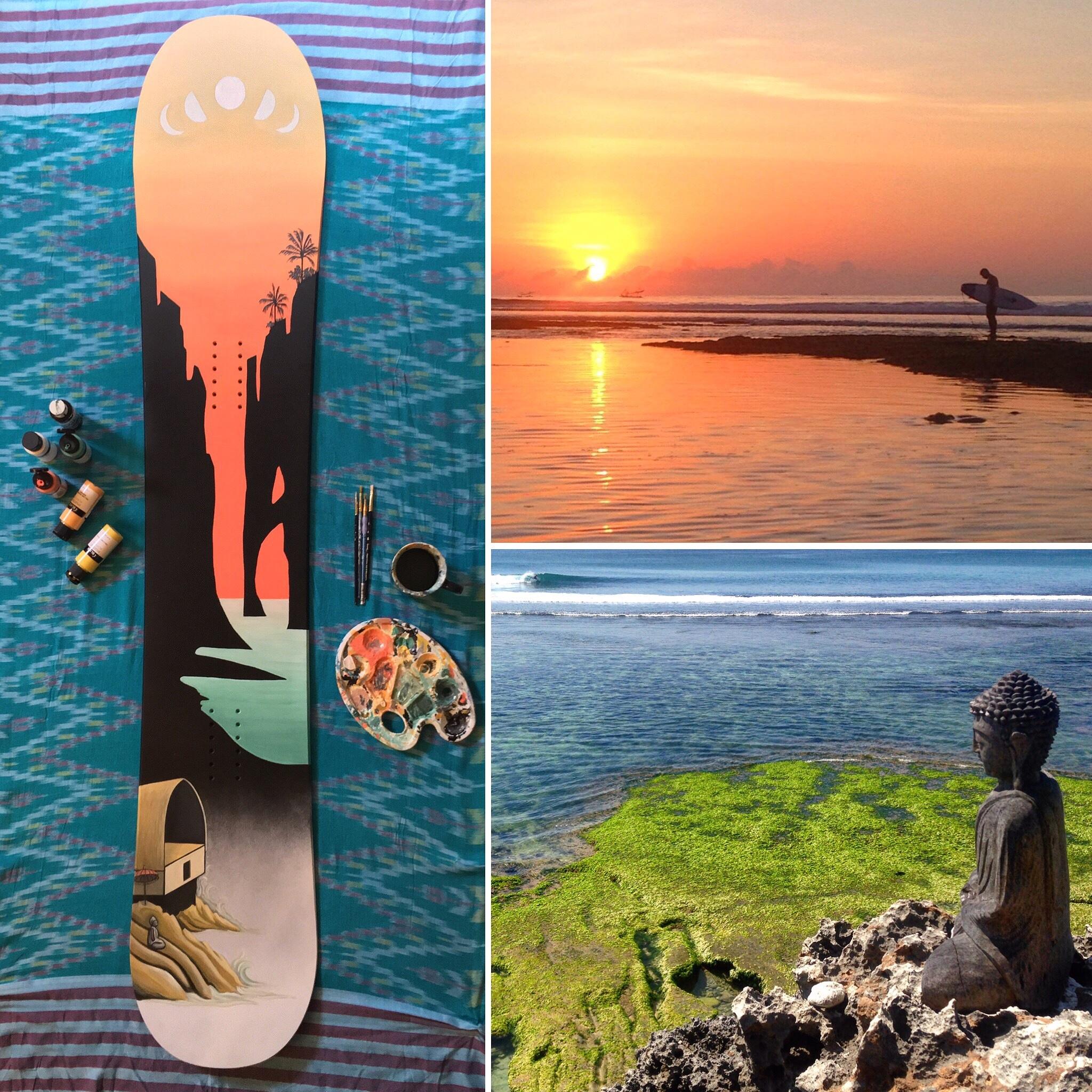 Ode to Bali, Derby board