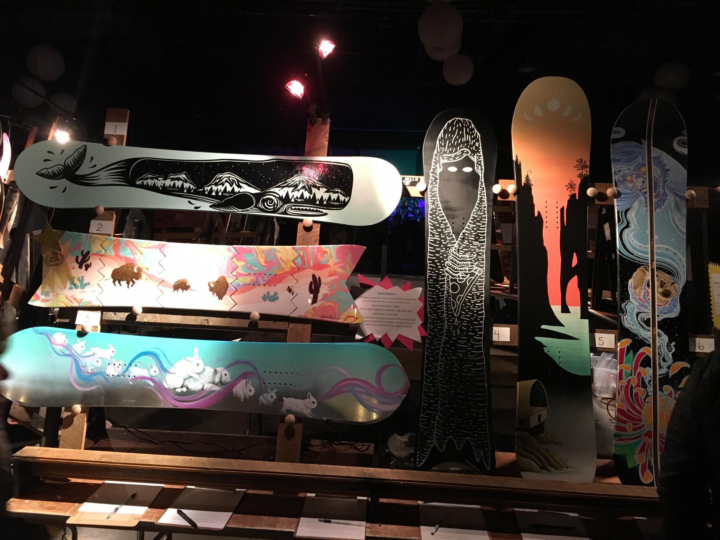 Broken Board Art Auction