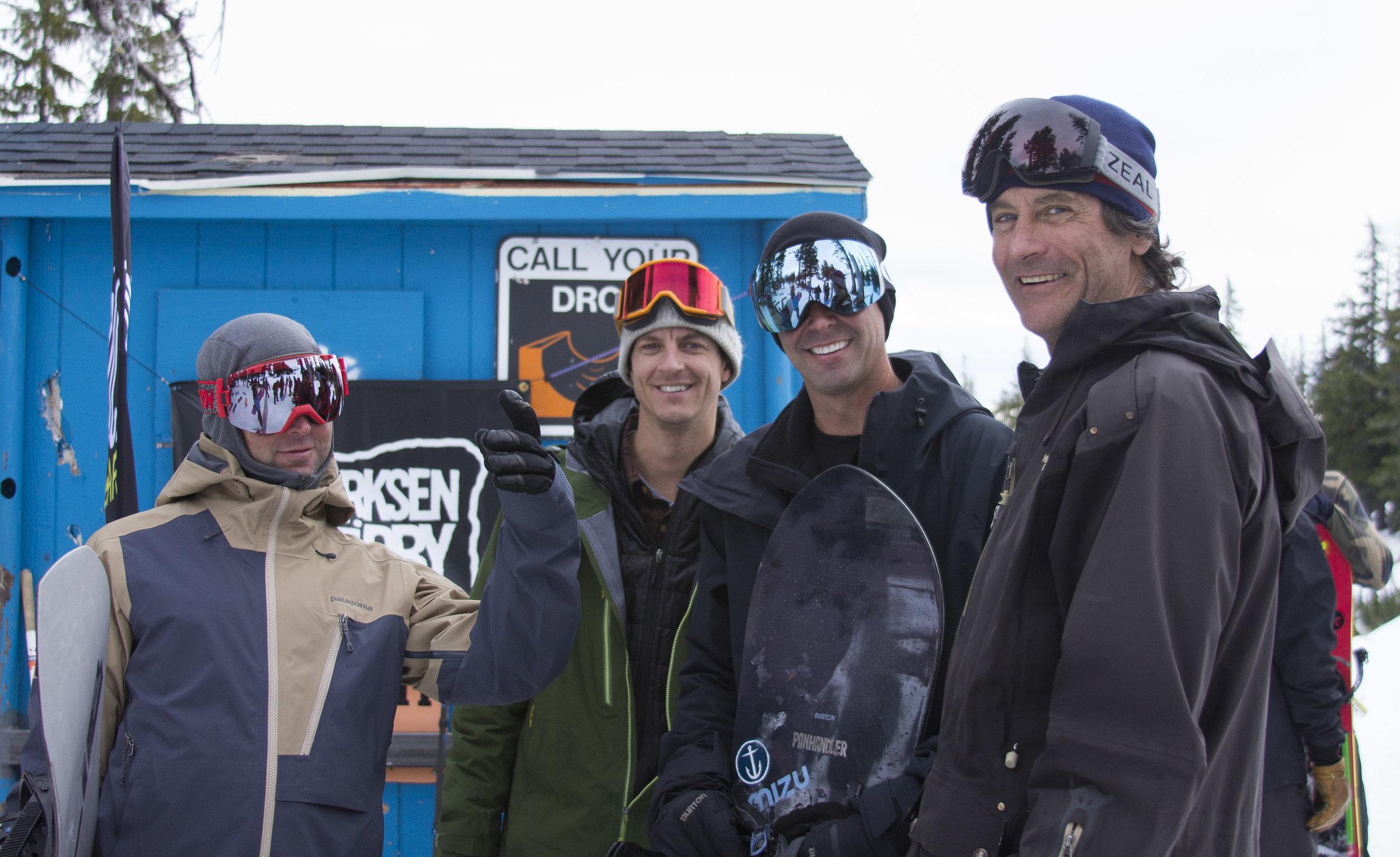 Jason McAllister, Tom Burt & crew, photo by Lori LaBissoniere
