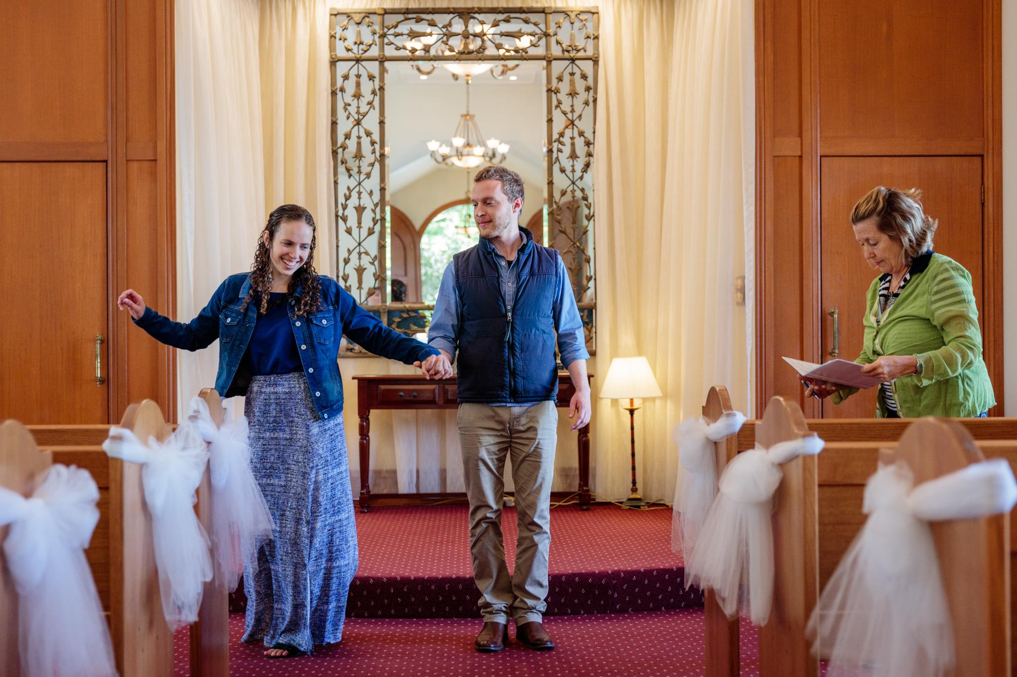Lisa and Demetrius - Wedding REHERSAL
