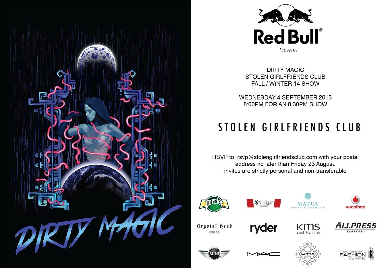 Invite - Stolen Girlfriends Club 'Dirty Magic'.jpg