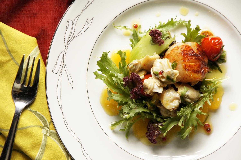 海鮮酒凍沙拉