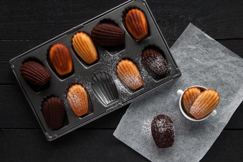 蜂蜜檸檬瑪德蓮 & 巧克力瑪德蓮