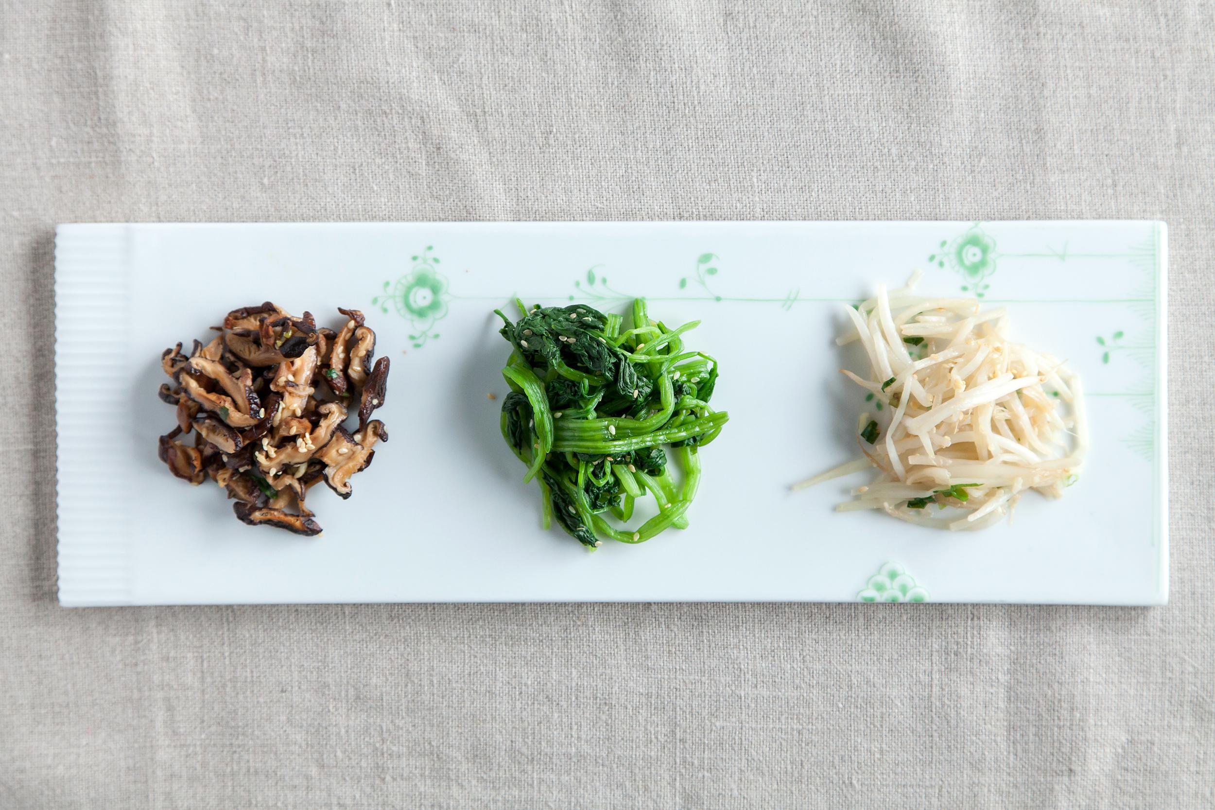 韓式三色小菜