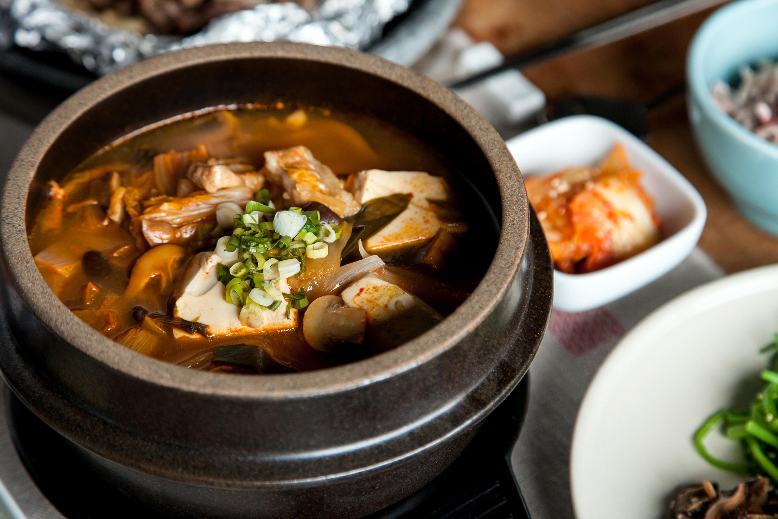 正韓冬季泡菜鍋