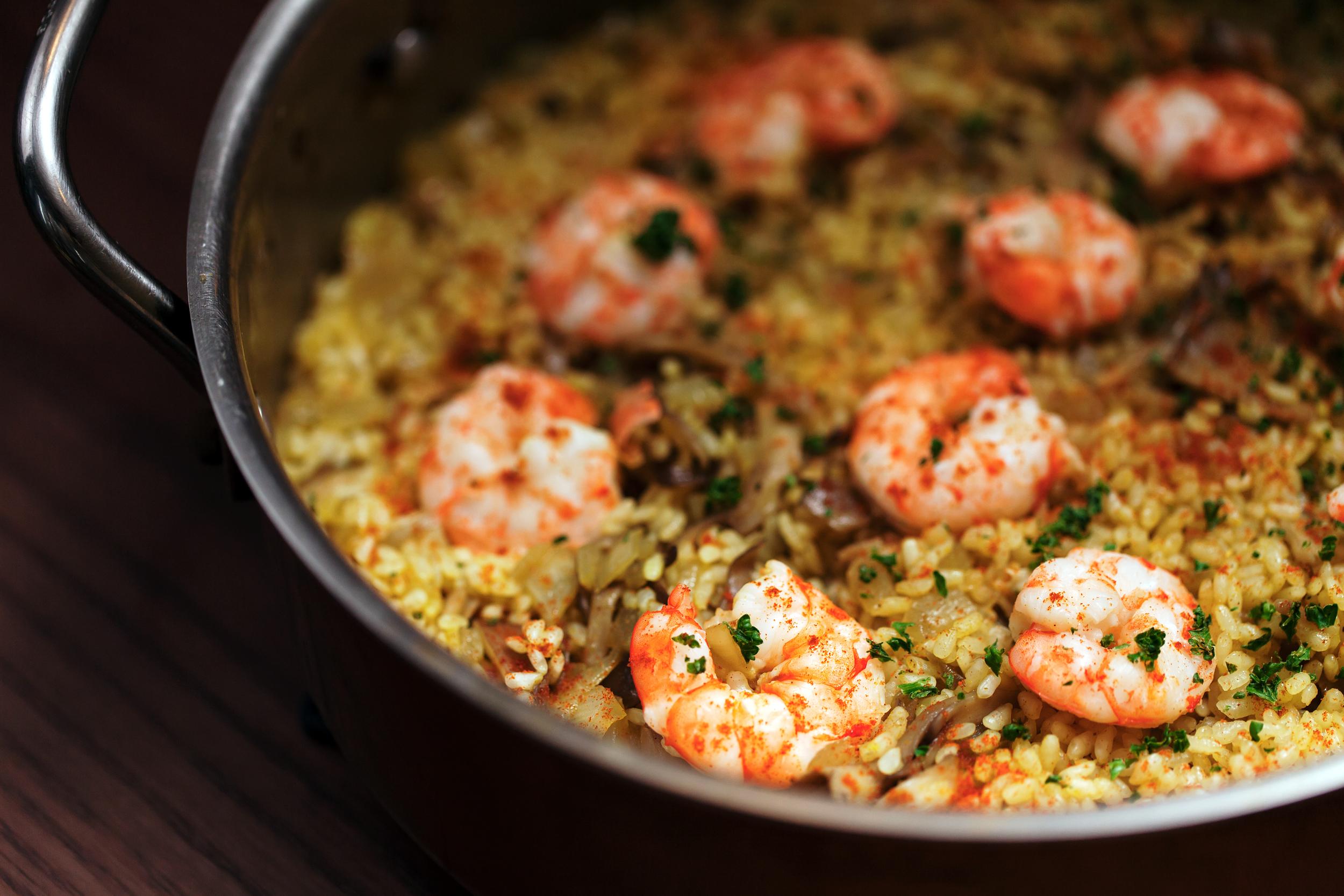 蝦子咖哩炊飯