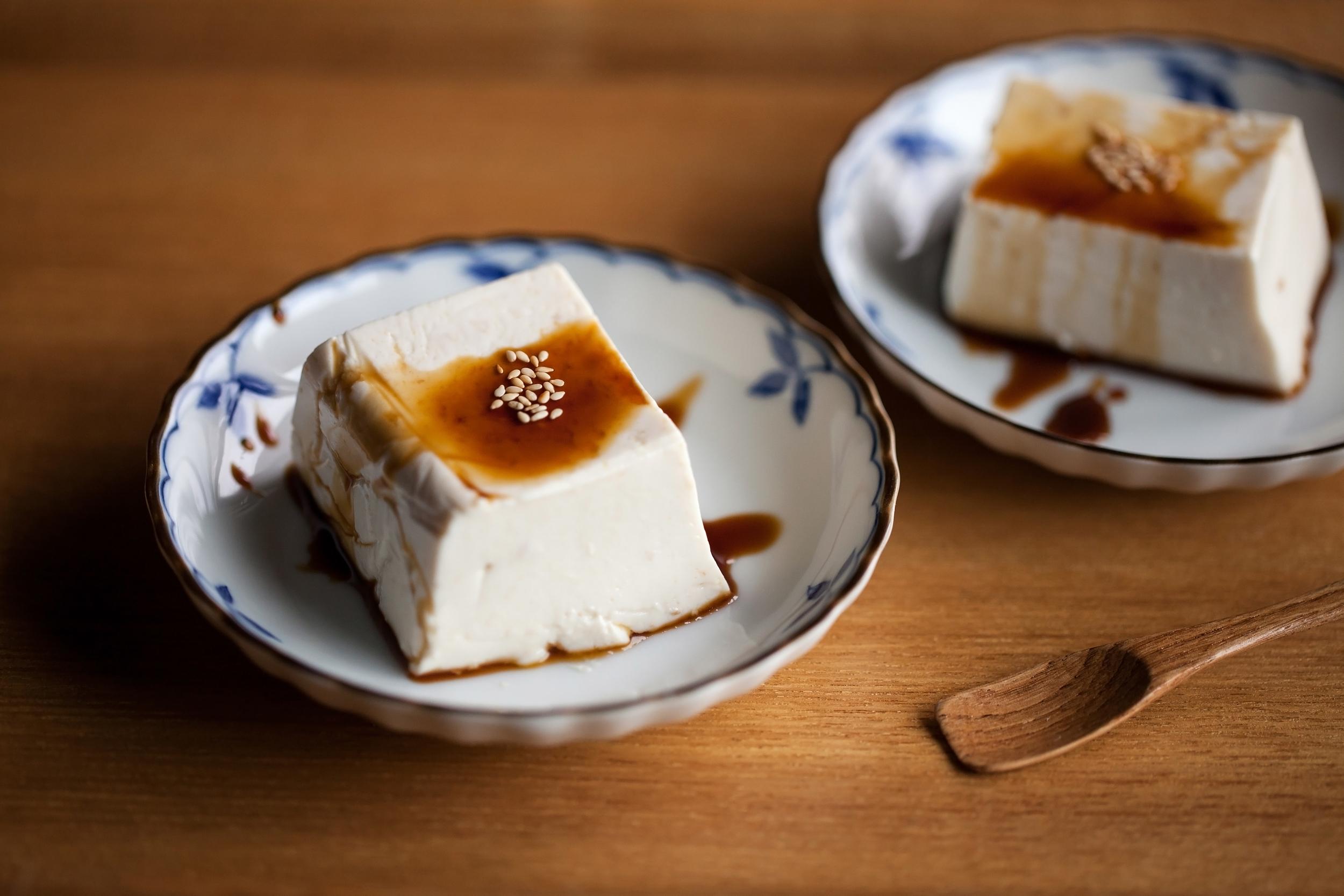 日式芝麻布丁
