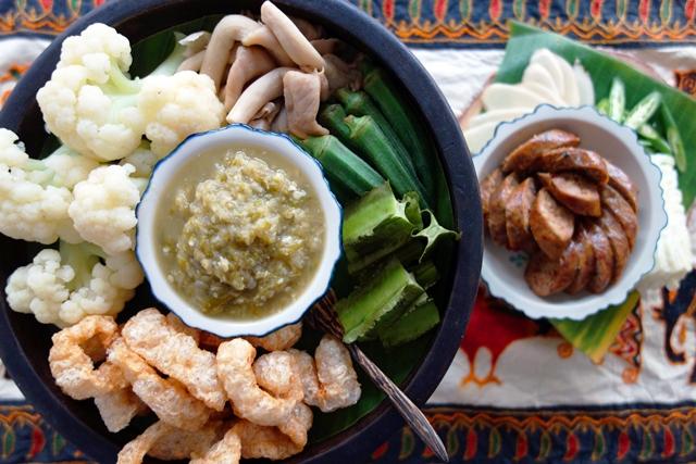 蘭納青辣椒醬Northern Thai Green Chili Dip.JPG