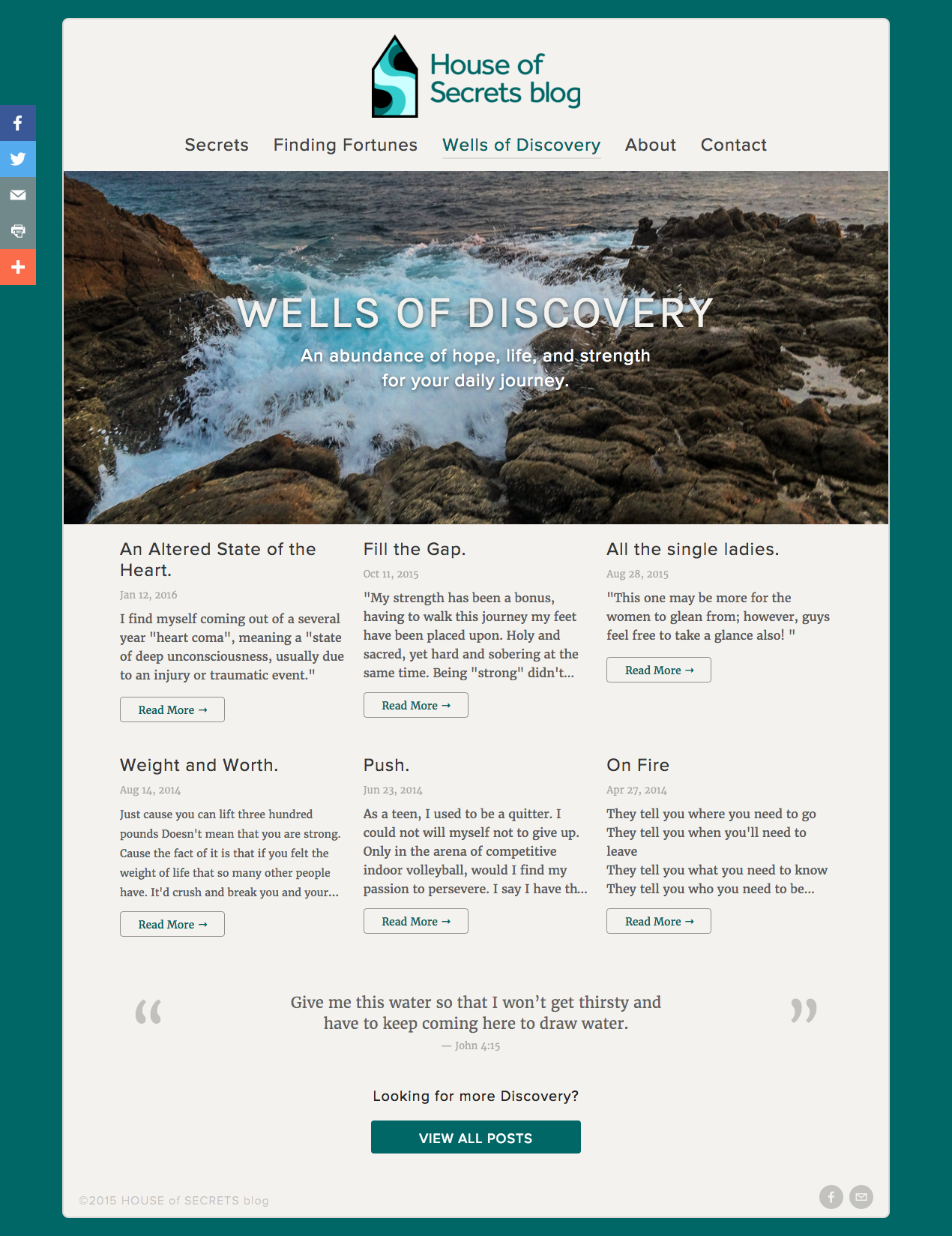 Wells of Discovery