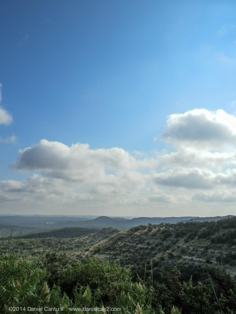 Hills of Devil's Backbone, TX, 2014