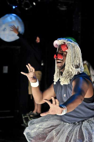 As Lion in Michael Ching's Midsummer Night's Dream.  Photo by Cayuga Strategies, LLC.