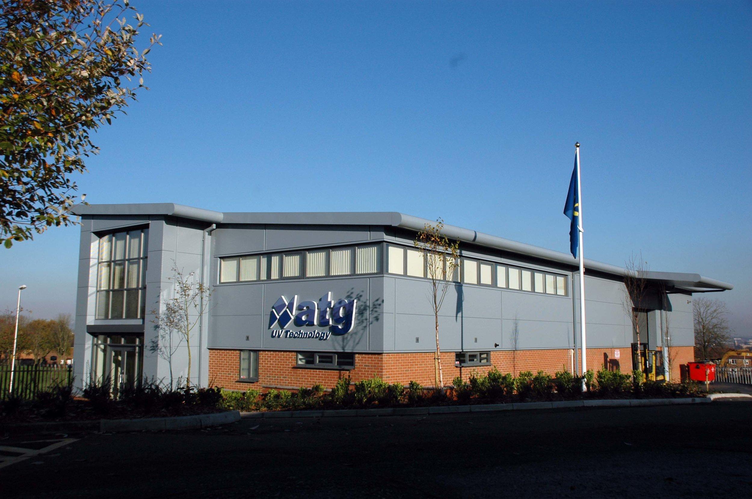 ATG UV Headquarters in Wigan, United Kingdom