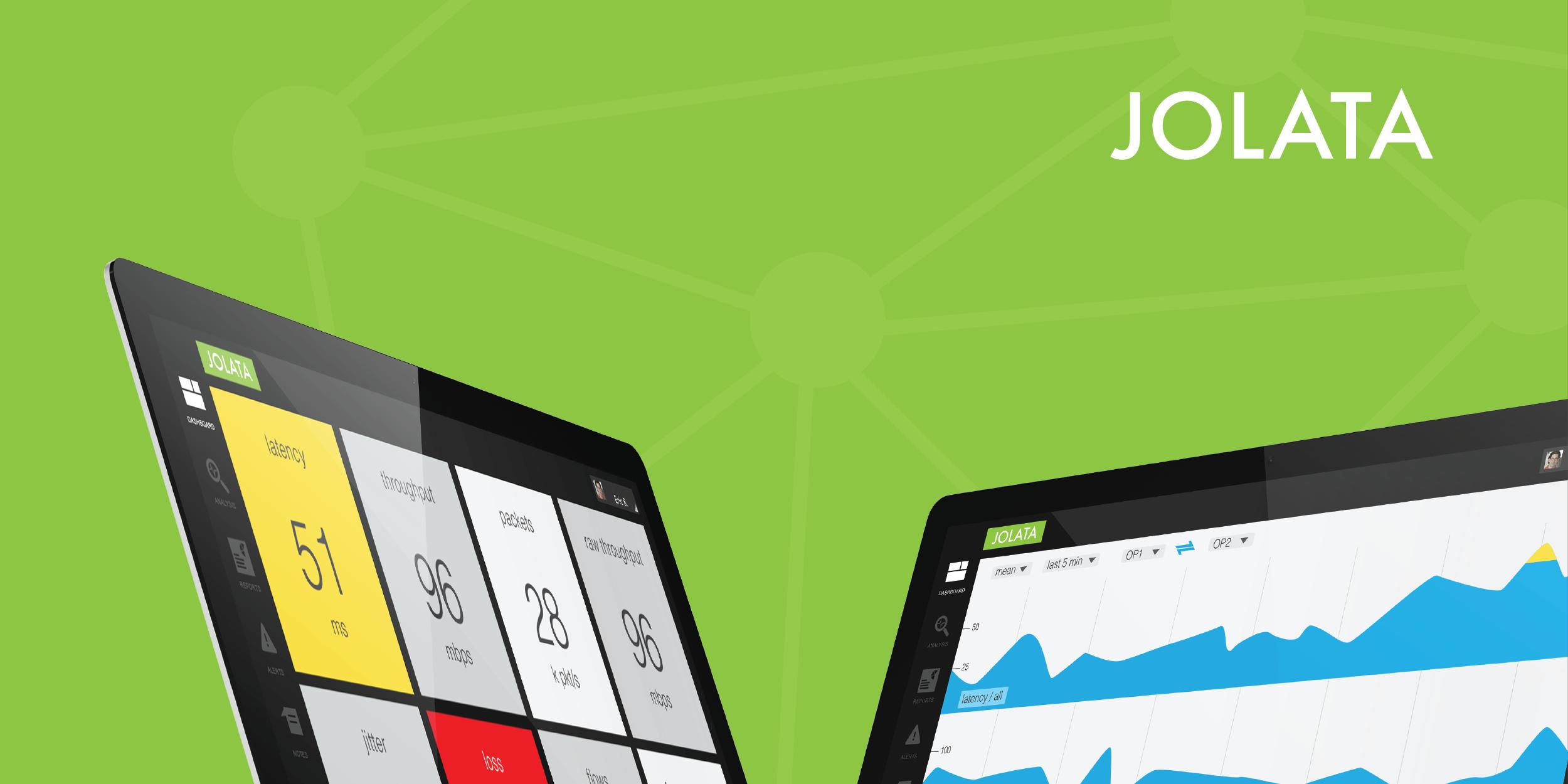 Jolata Network Intelligence \ UX and Data Visualization: Jan 2013 - Mar 2014
