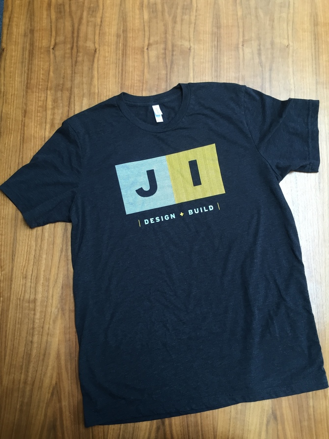 """JI Design+Build"" Tri-Blend Men's Fashion T"