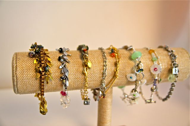 garden party bracelets