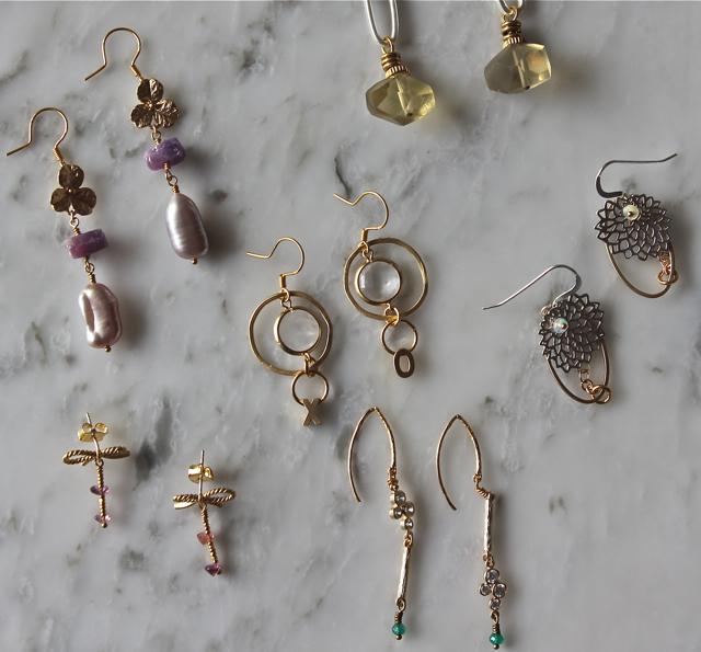 Spring 2014 earrings