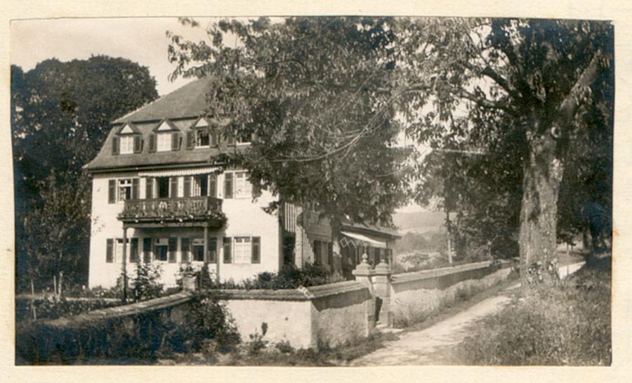 Schloss Bollschweil - Haus Nr. 84(1917)