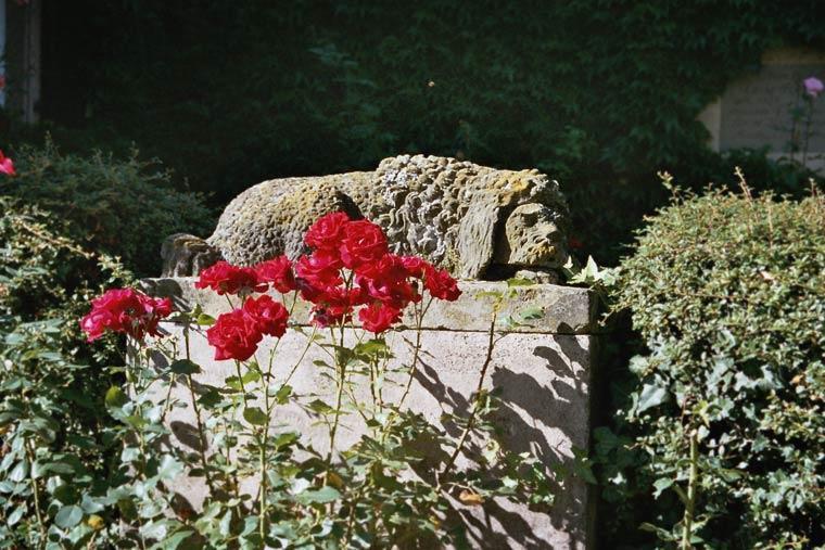 Figur im Schlossgarten