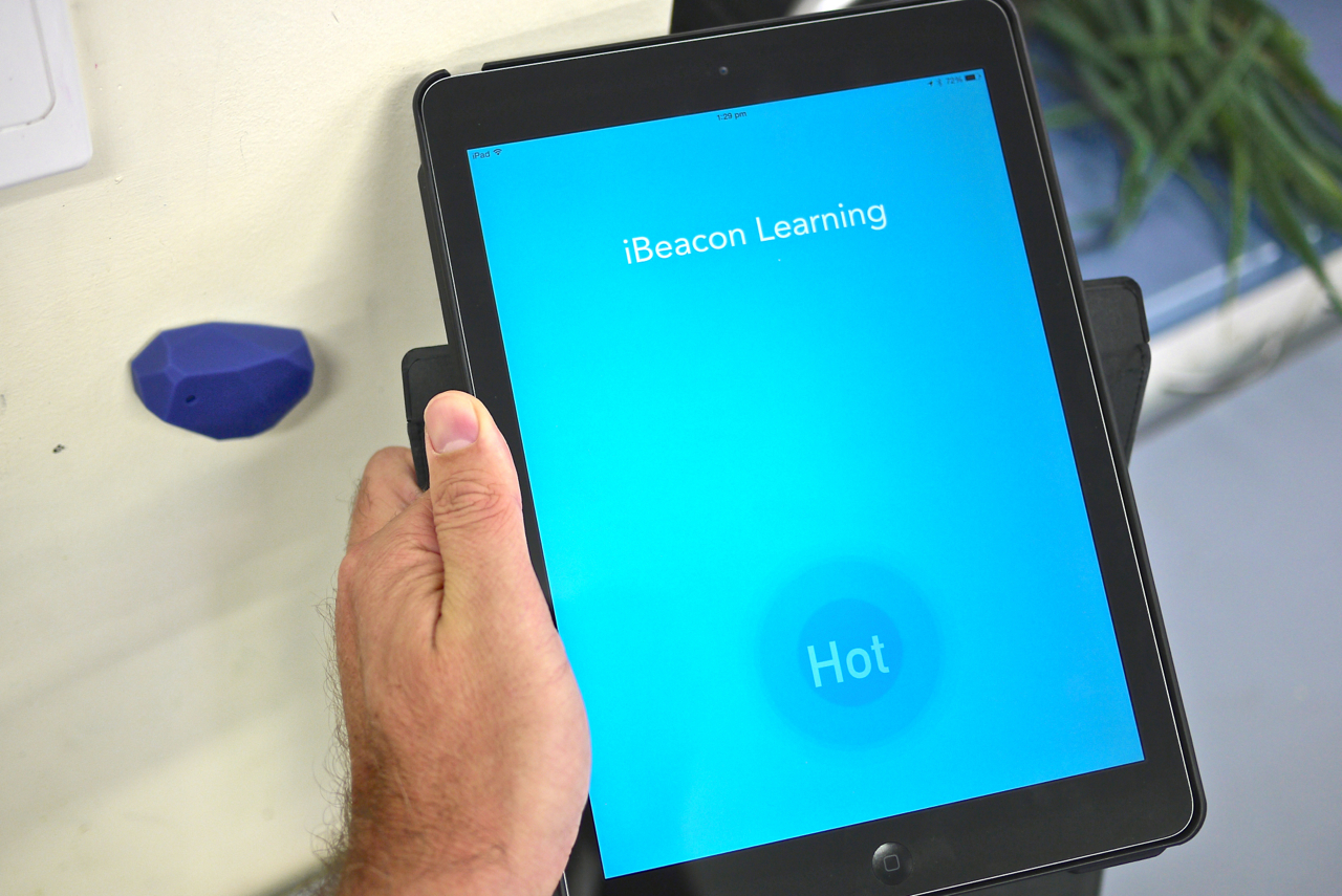 ibeacon education learning bluetooth proximity