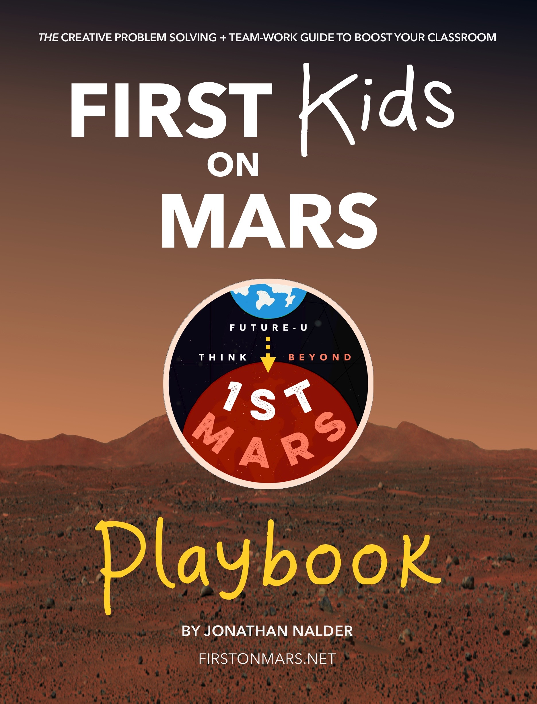 First Kids on Mars playbook cover.jpg