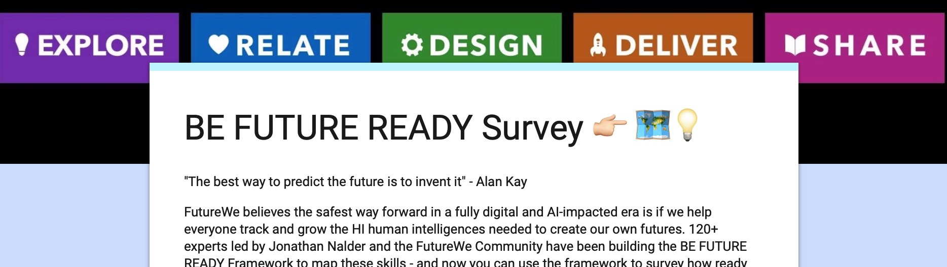 Be Future Ready Survey -