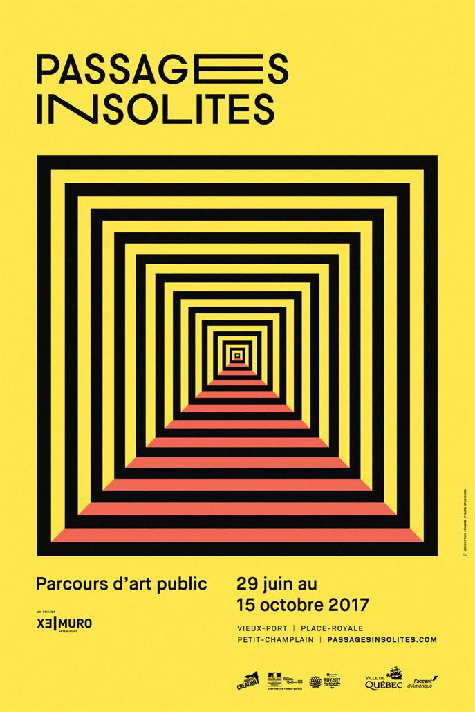 Design graphique-Figure-Logo-Affiche-Branding-Événement-Passages insolites-Québec
