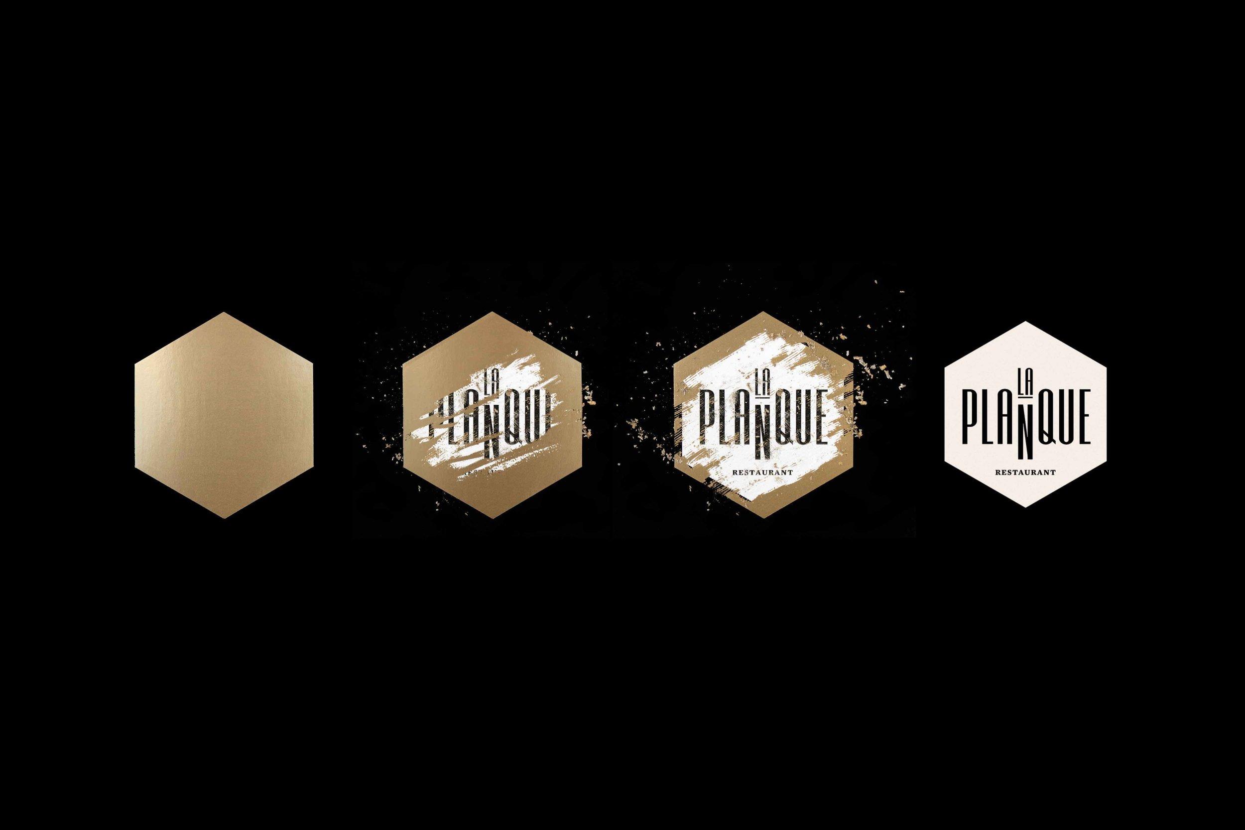 Design graphique-Branding-Logo-Restaurant-La planque-Québec