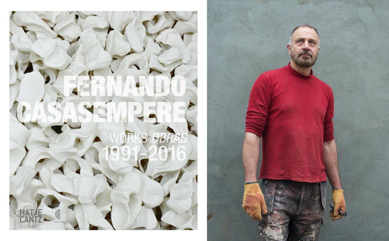 """Fernando Casasempere """"Works / Obras 1991-2016 """"  Published by   Hatje Kantz"""