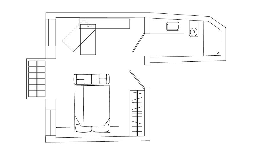 loft w/alcove (#2)