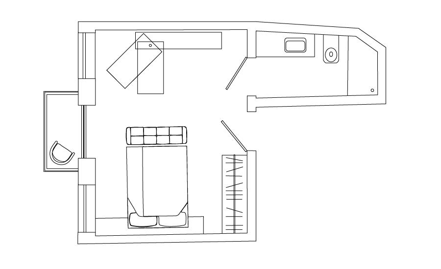 loft w/balcony (#3)