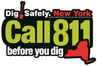 CALL BEFORE YOU DIG. IT'S THE LAW!